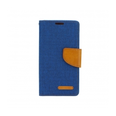 Puzdro Canvas Samsung Galaxy S6 Edge blue