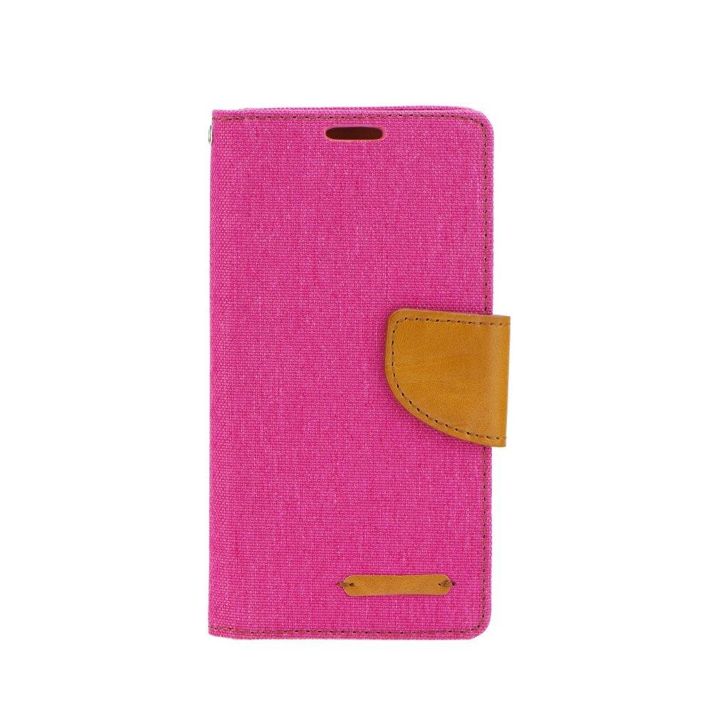 Puzdro Canvas Samsung Galaxy S6 Edge pink  ab23921d91b
