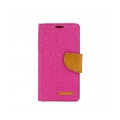Puzdro Canvas Samsung Galaxy S6 Edge pink