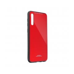 GLASS Case Samsung Galaxy A70 red