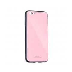 GLASS Case Samsung Galaxy A20E pink
