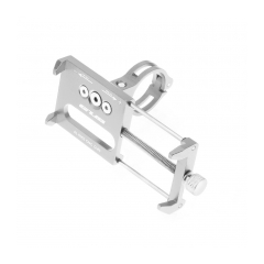 Bike holder G85 silver for mobile phone Metal