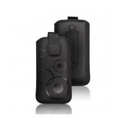Puzdro vsuvkové cierne pre HTC Desire C/S5360 S6500 LG L3