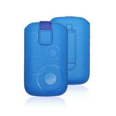Puzdro vsuvkové modre pre HTC Desire C S5360 S6500 LG L3
