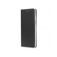 Luna Book Silver - Sam Galaxy A6 Plus 2018 black