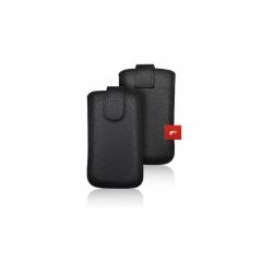 Puzdro vsuvkové cierne pre Iphone 3G/4G/4S/ Samsung S5830/s6310