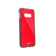 GLASS Case for SAMSUNG Galaxy S11e / S11 Lite red