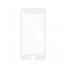 5D Full Glue Tempered Glass - pre Huawei Y5 2018 white
