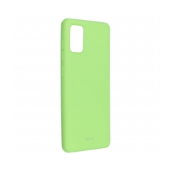 Roar Colorful Jelly puzdro na Samsung Galaxy A71 lime