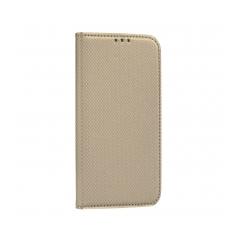 Smart Case Book puzdro na  Xiaomi Redmi Note 9 Pro/9S  gold