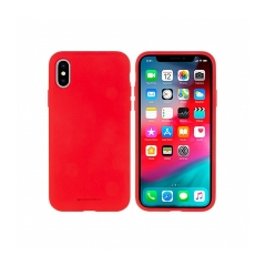 Mercury Silicone puzdro na Iphone 11 PRO Max ( 6.5 ) red