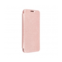 Forcell ELECTRO BOOK puzdro na IPHONE XS Max rose gold