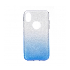 FORCELL Shining puzdro na IPHONE 12 PRO MAX clear/blue