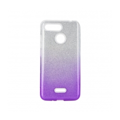 FORCELL Shining puzdro na XIAOMI Redmi 9 clear/violet