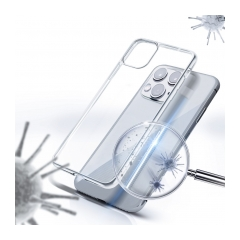 Forcell AntiBacterial puzdro na IPHONE 12 transaprent