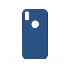 Forcell Silicone puzdro na IPHONE 12 PRO MAX dark blue