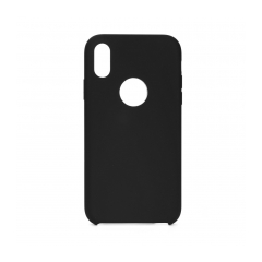 Forcell Silicone puzdro na IPHONE 12 PRO MAX black