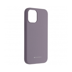 Mercury Silicone puzdro na IPHONE 12 MINI lavender grey