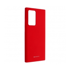 Mercury Silicone puzdro na SAMSUNSG NOTE 20 ULTRA red