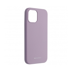 Mercury Silicone puzdro na IPHONE 12 / 12 PRO purple