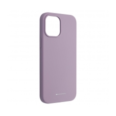 Mercury Silicone puzdro na IPHONE 12 PRO MAX purple