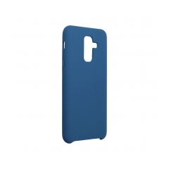 Forcell Silicone puzdro na SAMSUNG Galaxy A6 Plus 2018 dark blue