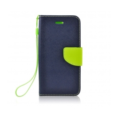Fancy Book - puzdro pre Samsung Galaxy S6 EDGE+ navy-lime