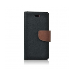 Fancy Book - puzdro pre Samsung Galaxy S5 (G900) black-brown