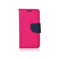 Fancy Book - puzdro pre Samsung Galaxy J1 pink-navy