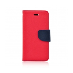 Fancy Book - puzdro pre Samsung Galaxy S4 (I9500) red-navy