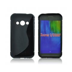 Back Case S-line - Samsung Galaxy Xcover 3 (G388) black