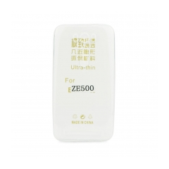 Silikónový 0,3mm zadný obal na Asus Zenfone 2 Laser / ZE500KL transparent
