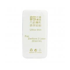 Silikónový 0,3mm zadný obal na Asus Zenfone 2 Laser / ZE601KL transparent