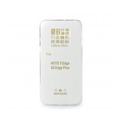 Silikónový 0,3mm zadný obal na Samsung Galaxy S6 Edge Plus transparent