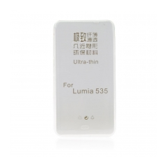 Silikónový 0,3mm zadný obal na MICR Lumia 640XL transparent