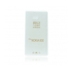 Silikónový 0,3mm zadný obal na Nokia 930 transparent