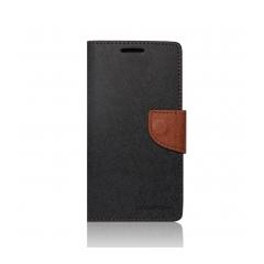 Puzdro Fancy Diary Mercury - Samsung Galaxy A3 čierne