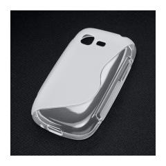 Puzdro gumené Samsung S5310 Pocket Neo  transparent