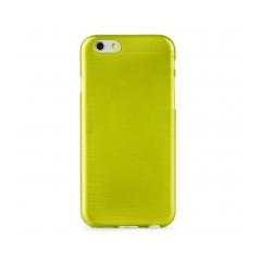 Jelly Case Brush - Samsung Galaxy S6 EDGE green