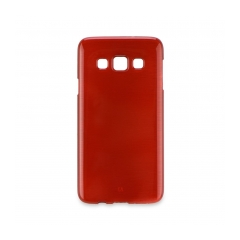 Jelly Case Brush - Samsung Galaxy S7 EDGE (G935) red