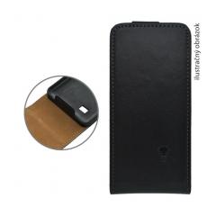 Puzdro knižkové Samsung S7562 S Duos (aj Galaxy trend) čierna