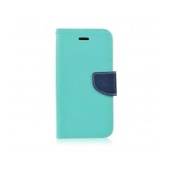 Fancy Book - puzdro pre HTC 825 mint-navy