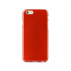 Jelly Case Brush - Apple iPhone 7 (4,7) red