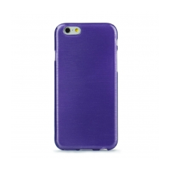 Jelly Case Brush - Apple iPhone 7 (4,7) purple