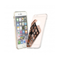 Mirror - silikónové puzdro pre Samsung GALAXY S6 EDGE PLUS (G928F) pink