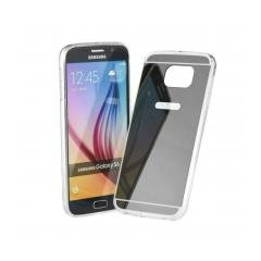 Mirror - silikónové puzdro pre Samsung GALAXY S6 EDGE (G925F) grey