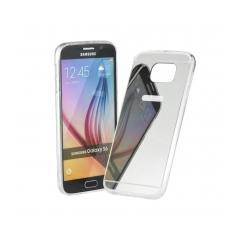 Mirror - silikónové puzdro pre Samsung GALAXY S6 EDGE (G925F) silver