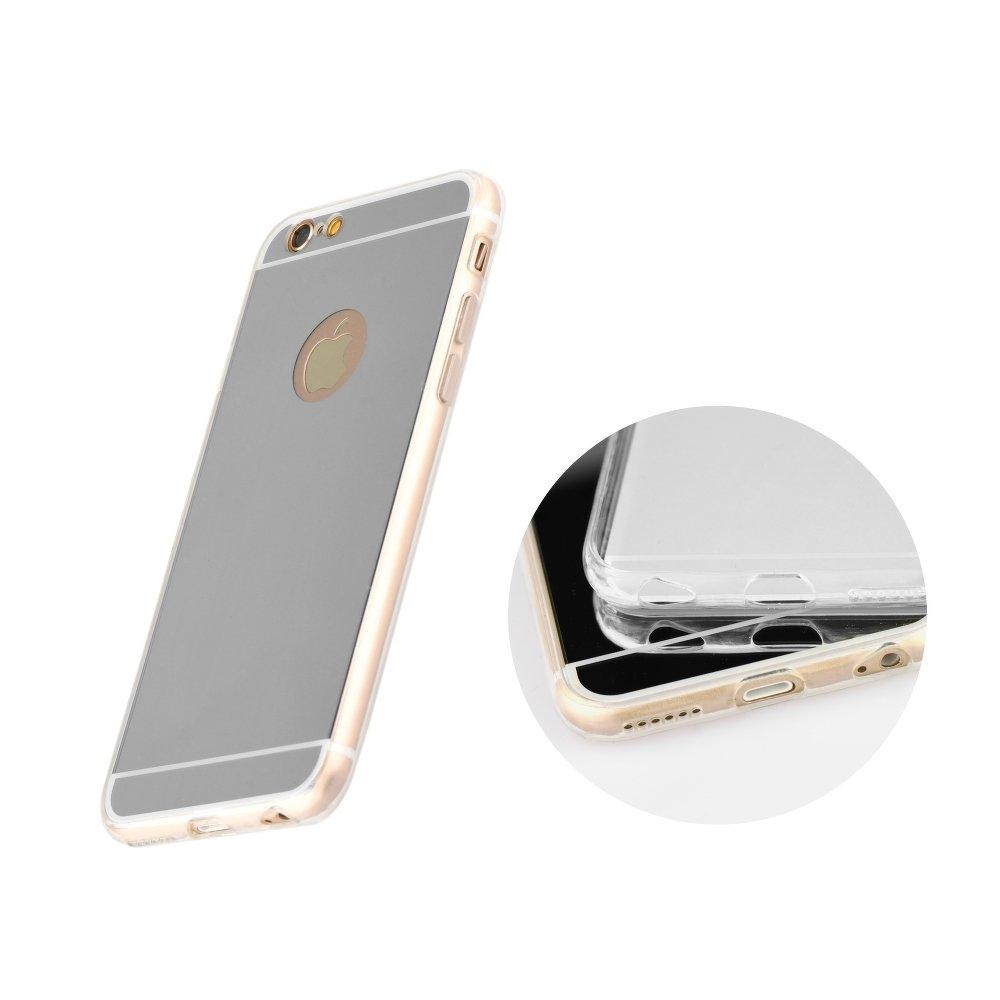 Mirror - silikónové puzdro pre Samsung GALAXY S6 EDGE (G925F) silver ... 20b0f9b4505