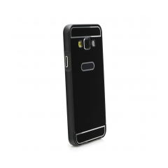 Aluminum Bumper + Back Cover Samsung GALAXY J1 2016 (Mirror) black