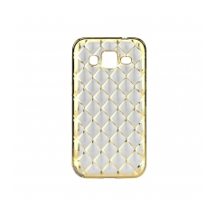 LUXURY - silikónový obal na Samsung GALAXY CORE PRIME (G360) gold
